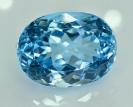 21.25 Crt Natural Topaz Faceted Gemstone.( AG 28)