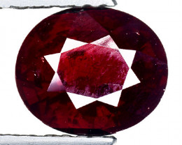 2.03 Ct Natural Red Spessartite Garnet Top Quality Gemstone. SG 65