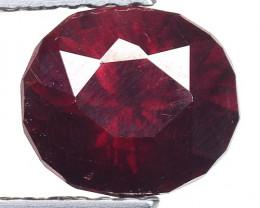 1.52 Ct Natural Red Spessartite Garnet Top Quality Gemstone. SG 67