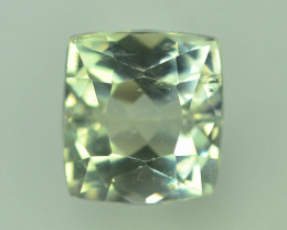 9.55 Ct Green Spodumene Gemstone From Afghanistan