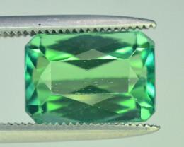 4.15 Ct Green Spodumene Gemstone From Afghanistan