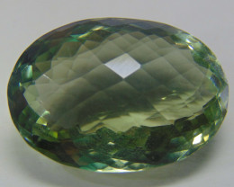 IF~FLAWLESS good  SPARKLING green amethyst 35.00 cts