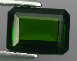 1.45 CTS NATURAL ULTRA RARE CHROME GREEN DIOPSIDE RUSSIA