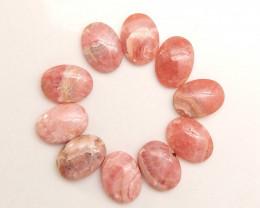 Rare Rhodonite Pendant Bead ,Handmade Gemstone ,Lucky Pink Stone C52
