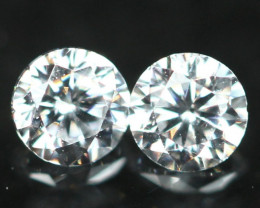 1.70mm D/E/F VS Natural Round Brilliant Cut Diamond Pair