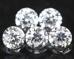 1.20mm D/E/F VS Clarity Natural Brilliant Round Diamond