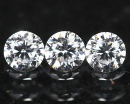 1.60mm D/E/F VS Clarity Natural Brilliant Round Diamond