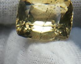 Yellow Scapolite Cushion cut 6.75 Carat