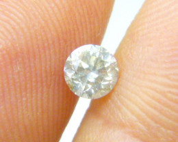 0.52ct J-SI2  Diamond , 100% Natural Untreated