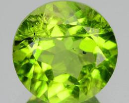 1.57 Carat Unheated Parrot Green Color natural Peridot Loose Gemstone