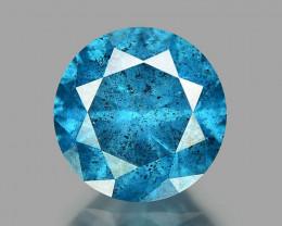 Natural Blue Diamond - 0.46 ct