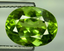 6.50 Carats Top Grade Oval Cut Natural Olivine Green Natural Peridot