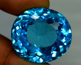 45.15 cts Electric Blue Topaz Gemstone