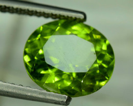 5.50 Carats Top Grade Oval Cut Natural Olivine Green Natural Peridot