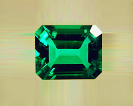 1.44 ct Gorgeous High-End Zambian Emerald Certified!