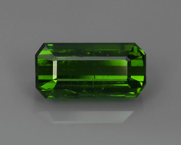 2.15-ALLURING TOP GREEN PARTY COLOR GREEN TOURMALINE OCTAGON CUT!!!