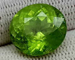 8.50CT RUTILE PERIDOT  BEST QUALITY GEMSTONE IGC80