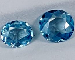 2.40Crt Blue Zircon  Best Grade Gemstones JI29
