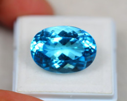 19.90ct Swiss Blue Topaz Oval Cut Lot GW3576