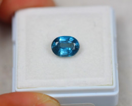 1.49ct Greenish Blue Kyanite Oval Cut Lot GW3579