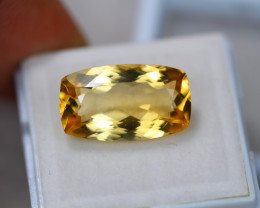 7.76ct Yellow Citrine Octagon Cut Lot GW3590