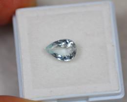 1.20Ct Blue Aquamarine Pear Cut Lot LZ2222