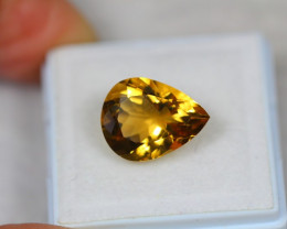 4.97Ct Yellow Citrine Pear Cut Lot LZ2229