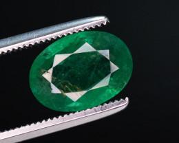1.81 Ct Natural Zambia Emerald Gemstone