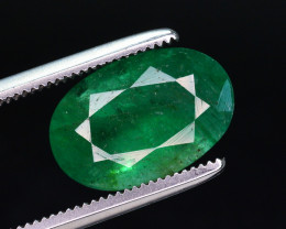 3 Ct Natural Zambia Emerald Gemstone