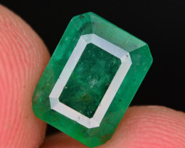 1.95 Ct Natural Zambia Emerald Gemstone