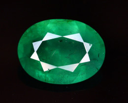 2.45 Ct Natural Zambia Emerald Gemstone