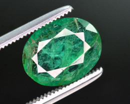 2.25 Ct Natural Zambia Emerald Gemstone