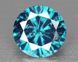 0.18 Cts SPARKLING RARE FANCY BLUE COLOR NATURAL DIAMOND