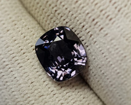 UNHEATED 2.55 CTS NATURAL STUNNING BLUEISH GRAY SPINEL BURMA