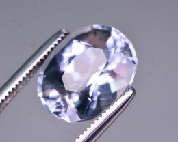 3.45 Ct Superb Color Natural Blue Aquamarine AQ1
