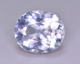 3.90 Ct Superb Color Natural Blue Aquamarine AQ1