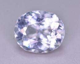 3.90 Ct Superb Color Natural Blue Aquamarine AQ1