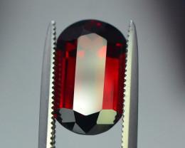3.90 ct Natural Laser Cut Red Rhodolite Garnet