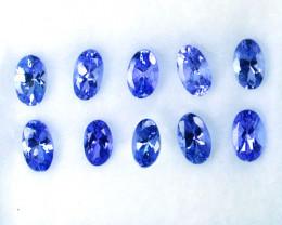 Wonderful 3.18Ct Natural Purple Blue Tanzanite Oval 5 X 3mm