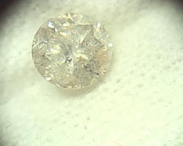 0.83ct J-I2  Diamond , 100% Natural Untreated