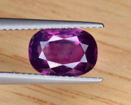 GIA Certified Natural Ruby 2.50 Cts from Kashmir, Pakistan