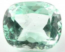 NR 4.17 ct Natural Colombian Emerald Cut Green Gem Loose Gemstone Stone