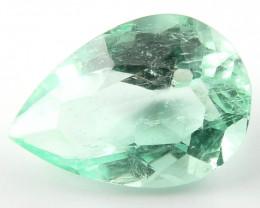 NR 2.27 ct Natural Colombian Emerald Cut Green Gem Loose Gemstone Stone