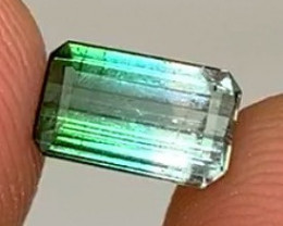 *NR* 1.50 ct VVS Blue Green Tourmaline- Minas Gerais, Brazil
