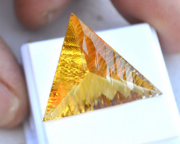 23.10 Carat Fantastic Fancy Cut Golden Citrine