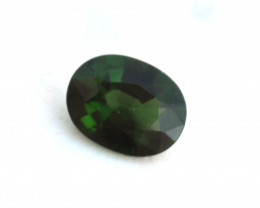 0.93 Carat Fine Oval Cut Chrome Green Tourmaline