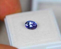 0.95ct Violet Blue Tanzanite Oval Cut Lot V3833