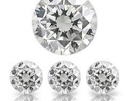 0.02 ct Round Diamond  (I / I1)