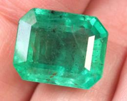 8.71cts-Natural Zambian Emerald -DS002