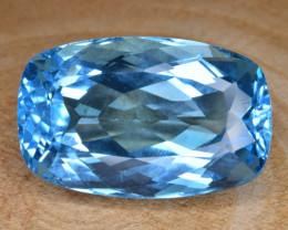 Natural Blue Topaz 33.28 Cts Top Clean Gemstone